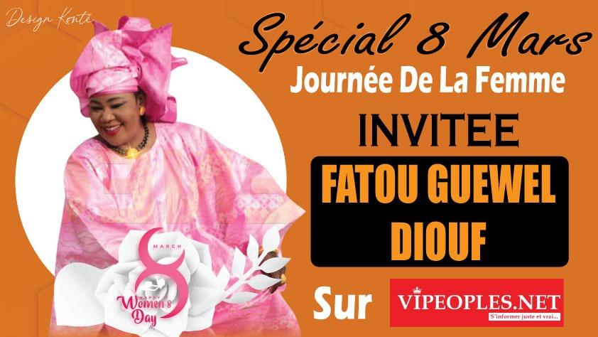 Spécial 8mars Fatou Gueweul Diouf du jamais raconte dans sa vie et son frère Mbaye Dieye Faye...