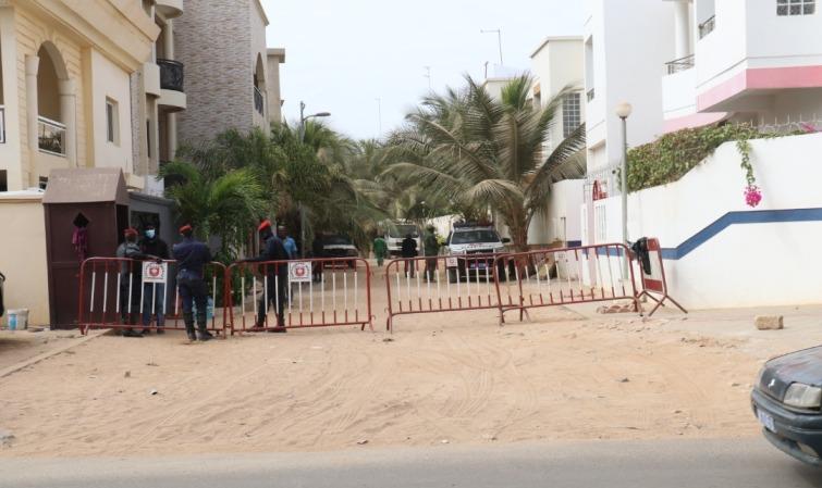 En direct chez Ousmane sonko apres sa libération