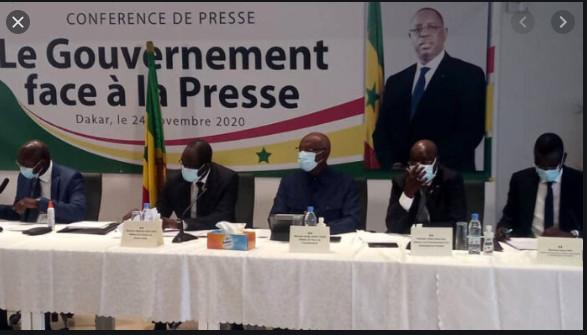 Gouvernemental-Presse: Oumar Guèye et Me Sidiki Kaba face aux journalistes ce jeudi