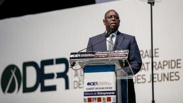 Sénégal : Déficit de financement des jeunes, le DG de la DER « mouille » Macky Sall