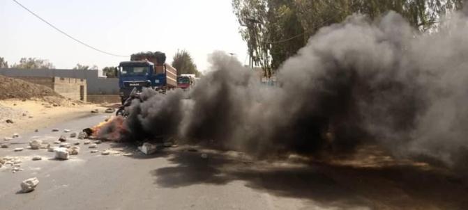 Bambilor / Un accident fait deux morts: Les populations bloquent la circulation et exigent des ralentisseurs