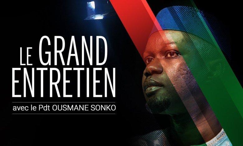 """Sonko: """"Nous devons laisser la politique de côté et travailler pour l'intérêt des sénégalais"""""""