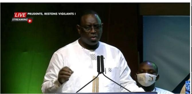 Conseil présidentiel pour l'insertion et l'emploi des jeunes: L'intégralité du discours du Président Macky Sall