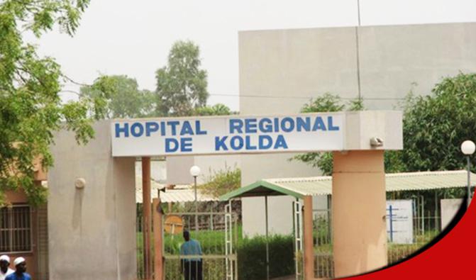 Marche pour une perfusion de l'hôpital de Kolda