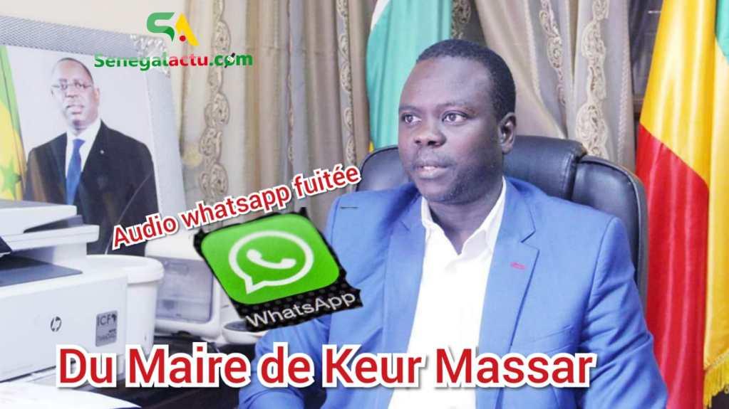 """Audio fuité du Maire de Keur Massar Moustapha MBENGUE : """"Apr sunu Jeunesse bi comme ay tapette..."""""""