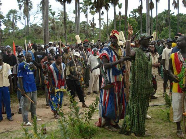 Initiation au bois sacré à Oussouye : Un individu se fait exploser avec un engin artisanal