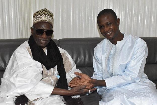 Entretien avec Antoine Félix Diome: Le Khalife général de Thiénaba, Serigne Abdou Rahim Seck en visite à Dakar