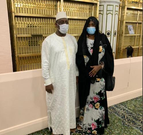 Arrêt sur image : Macky Sall et Marieme Faye Sall en Oumra à la Mecque