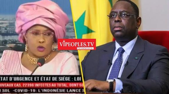 Urgent la député Mame Diarra Fam sur ses révélation des députés de Macky avec Sonko