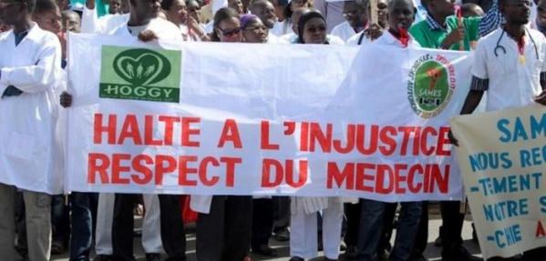 hôpital de Linguère : Les Internes des hôpitaux soutiennent la grève du Sames