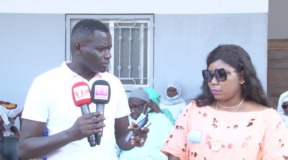 Diatou Diop de Miroir Citoyenne feu Mamadou Diop offre un lot de matériel médical à Dakarbuzz social