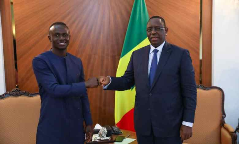 Palais Présidentiel: Sadio Mané reçu par Macky Sall (images)