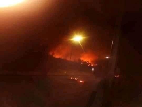 Incendie au service de réanimation de l'hôpital de Saint-Louis