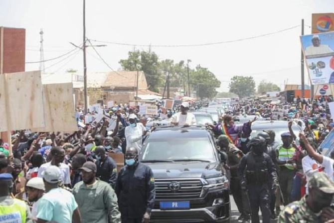 Tournée économique: Le Chef de l'Etat a réitéré ses remerciements aux populations...