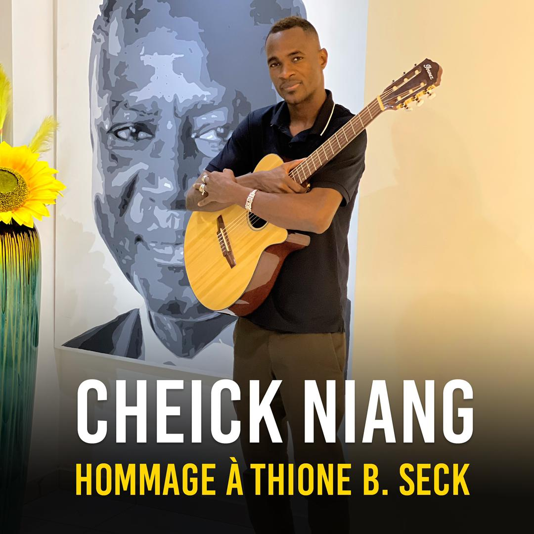 Le guitariste de Wally Seck, Cheikh Niang rend un vibrant hommage à Thione Seck