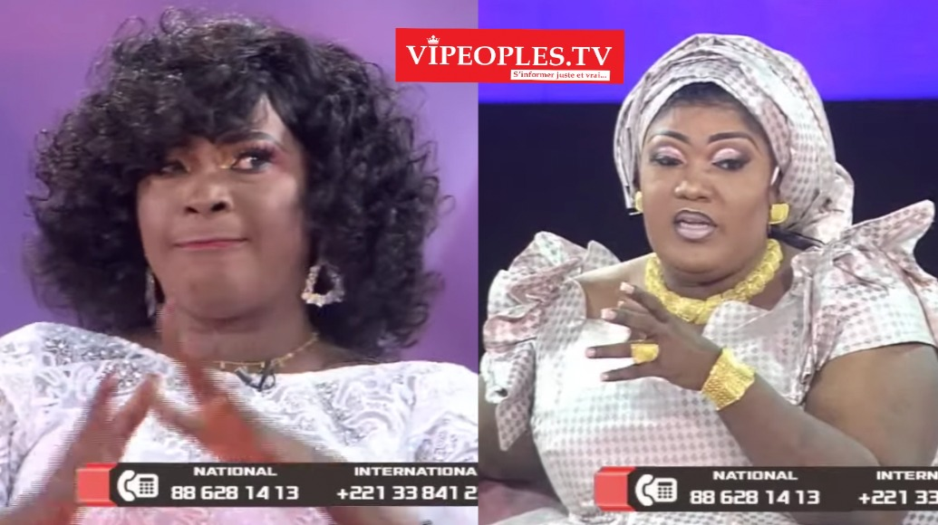 """Ndeye Guéye traite directement à Bijou Ngoné de la 2stv de """"Seytané"""" LANCE IRONIQUEMENT NDEYE GUEYE"""