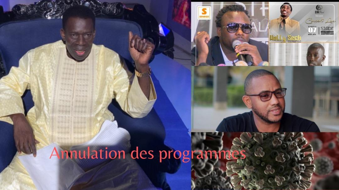 3EME VAGUE Assane Ndiaye artiste confinement n'est pas la solution il faut penser à l'économie....