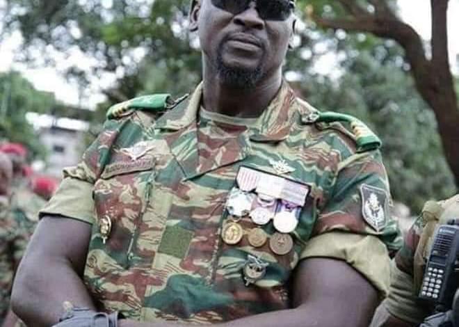 Guinée Conakry  : Le Colonel Mamady Doumbouya, auteur de la tentative de putsch serait ancien légionnaire de l'armée française