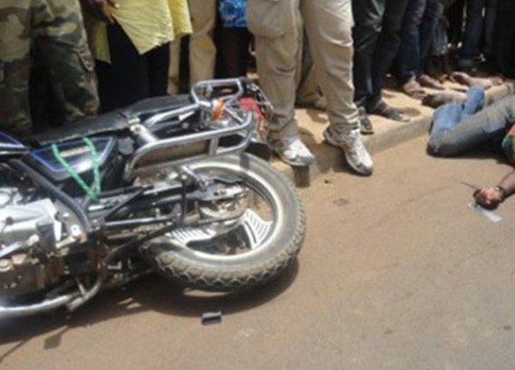 Kaolack: Un conducteur de moto Jakarta mortellement fauché