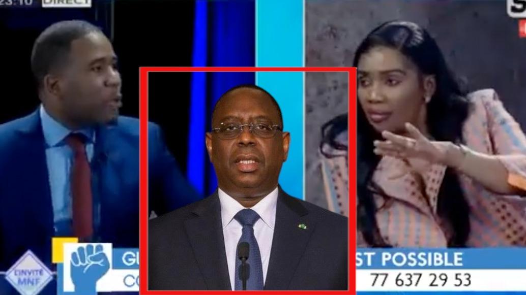 Maimouna Nd Faye 7TV sur la lâcheté des politiciens en confrontation avec Bougane si Macky m'appelle je vais lui répondre mais...