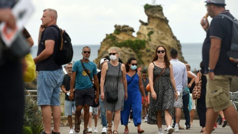 Covid-19: l'obligation du port du masque allégée sur le littoral dans les Pyrénées-Atlantiques