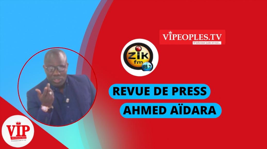 Revue de presse (wolof) Zik Fm du Vendredi 17 septembre 2021 avec  Mantoulaye