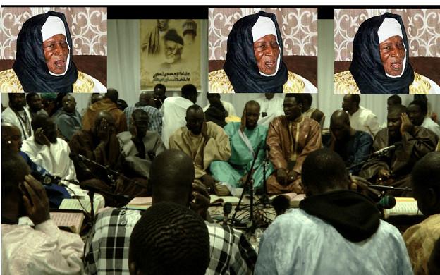 Cambérène : Des Mourides rendent hommage au regretté Serigne Abdoulaye Thiaw Laye