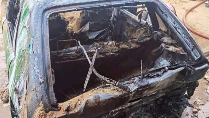 Patte d'Oie: Un véhicule calciné à la cité Impôts et Domaines