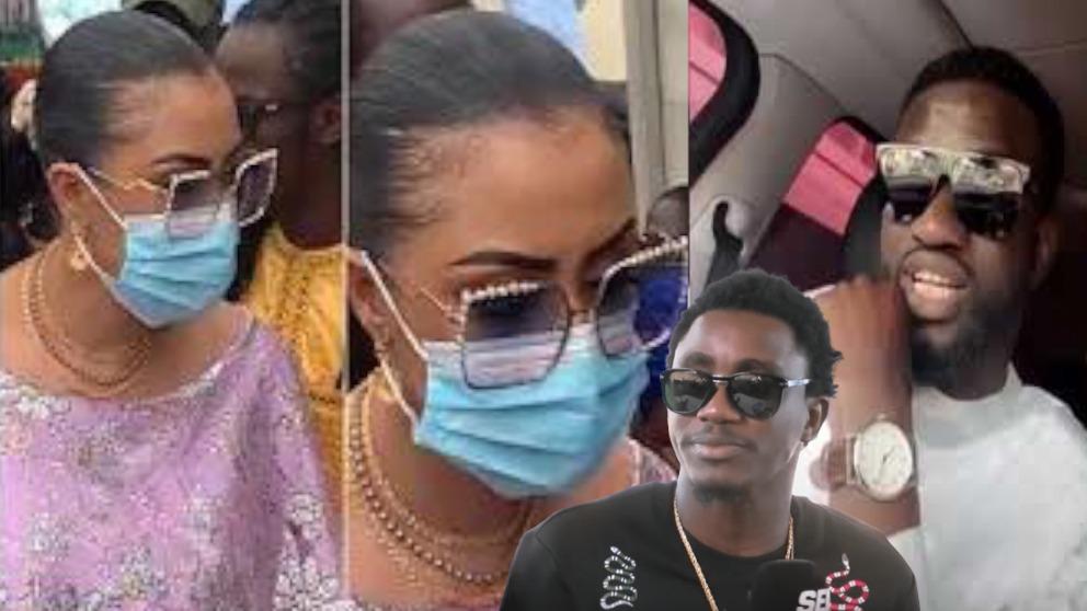 URGENT: Arrivée de l'épouse de Waly Seck au baptéme de son ami Ngouda Amina