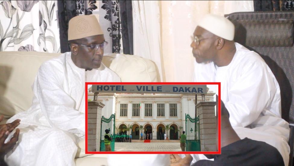 URGENT: Abdoulaye Diouf Sarr décline ses ambitions pour Dakar devant Serigne Saliou Thioune qui se réjouit.