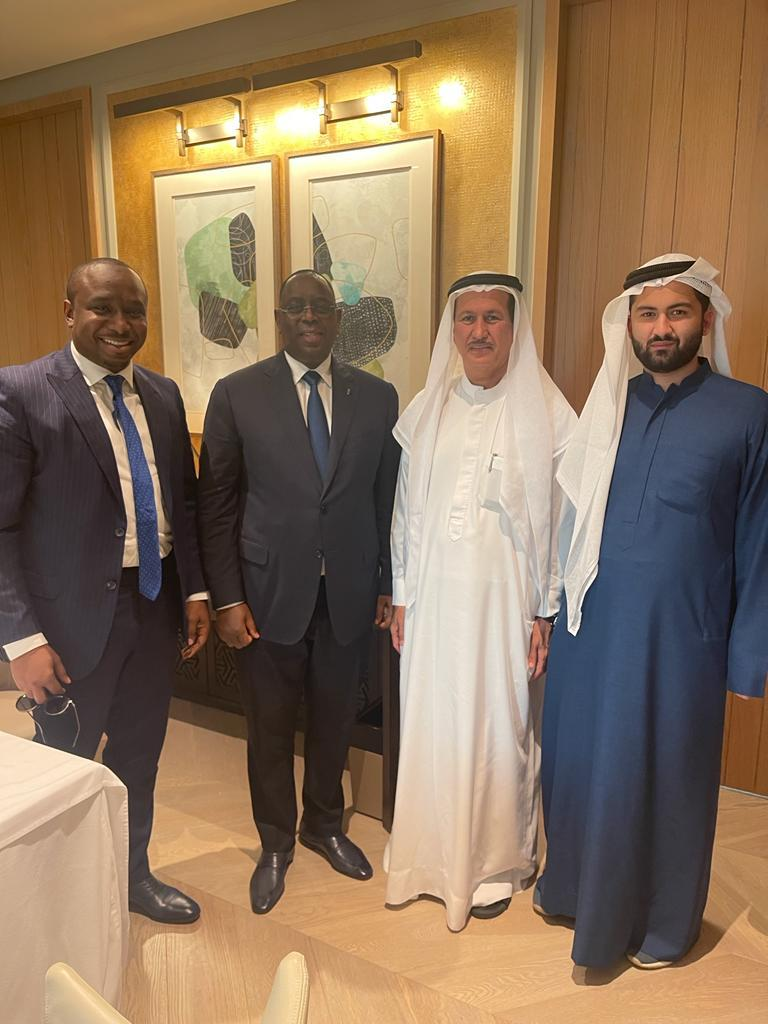 JOURNEE DU SENEGAL A DUBAI: En images Elimane Lam et le président Macky Sall en compagnie du PDG de DAMAC le richissime homme de DUBAI