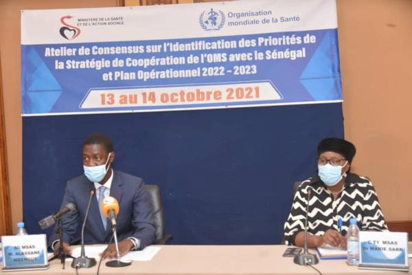 Plan opérationnel 2022 – 2023 : l'OMS et le ministère de la Santé du Sénégal en conclave