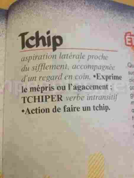 Melting Pot ! La France intègre un mot en africain, « thipétou » dans leurs dictionnaires