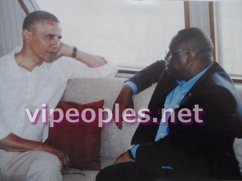 Une complicité entre Macky Sall et Barack Obama...