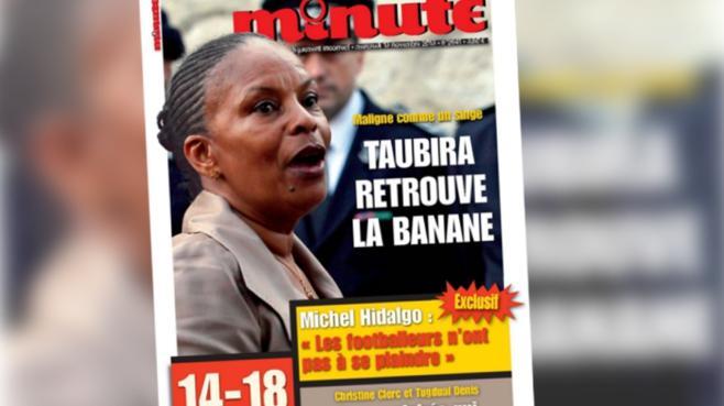 """Une provocante de """"Minute"""" contre Taubira : des mots choisis pour éviter une condamnation"""