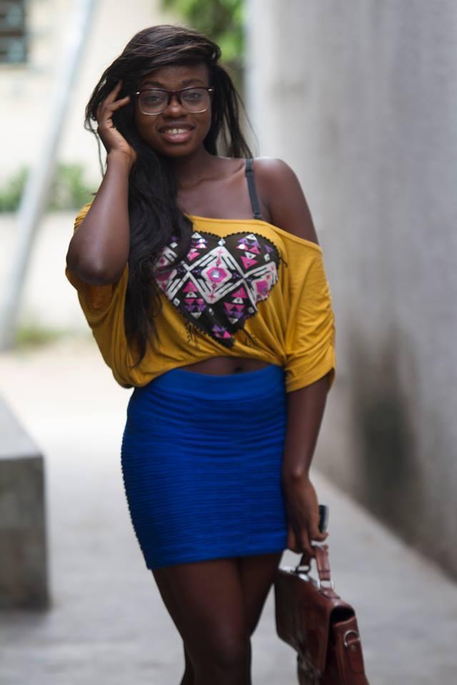 Manouch Audrey, une beauté noire