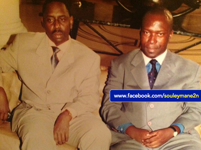 JADIS...Souleymane Ndéné Ndiaye et Macky Sall