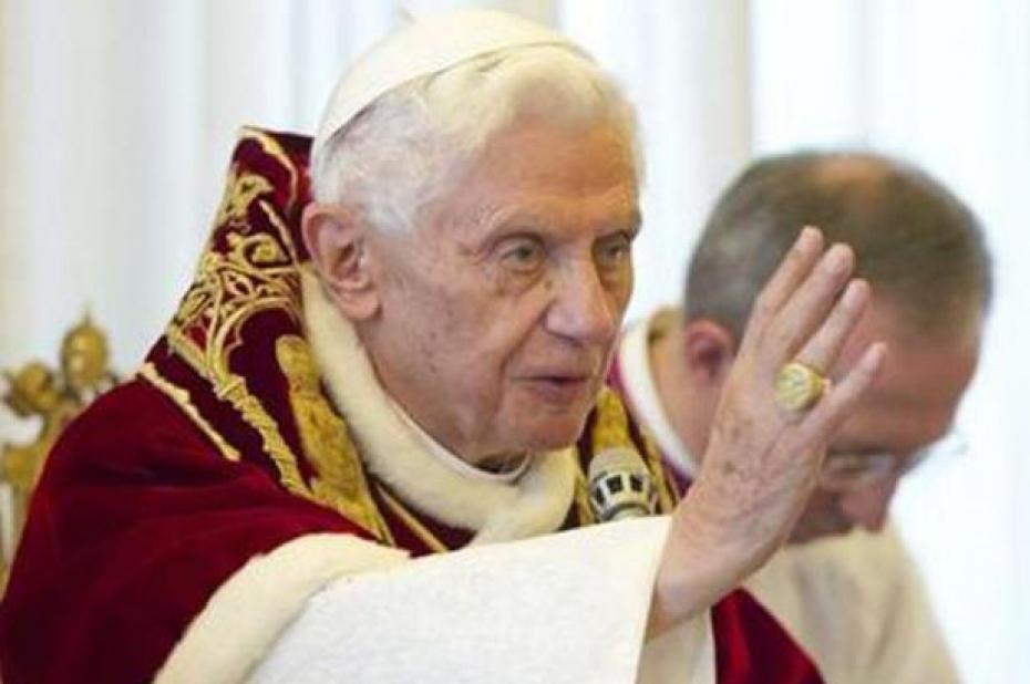 Benoit XVI : le pape corrige la date de naissance de Jesus