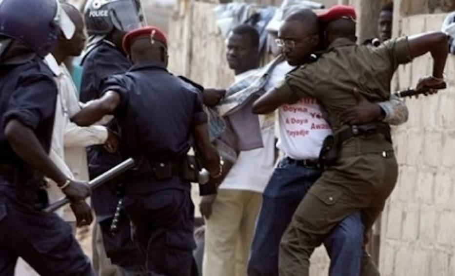 Macky Sall n'est pas content certains membres des forces de sécurité