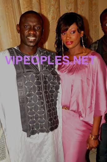 Voici la femme de Tange Tandian, accompagnée de Pape Diouf au Mariage