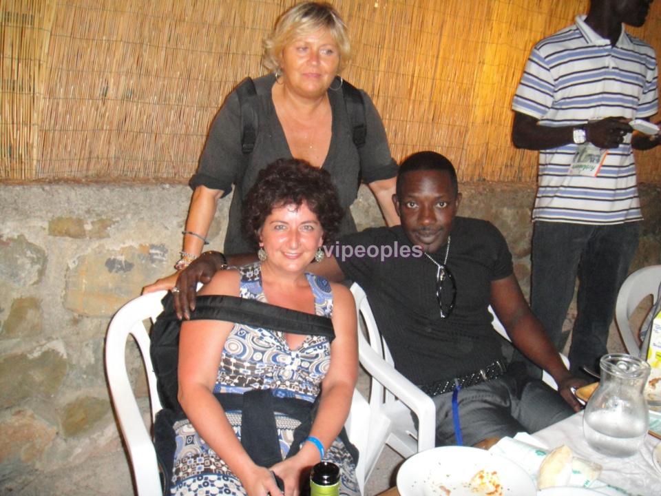 Mbaye Dièye Faye et sa copine Toubab?