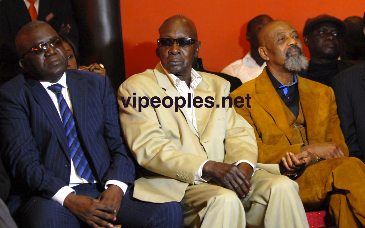 Les soldats de Wade : Oumar Sarr, Laye Faye et Pape Samba