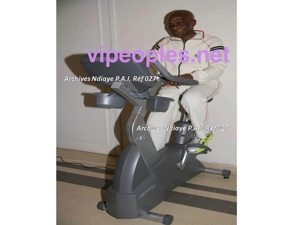 Abdoulaye Wade, l´homme politique qui privilégie sa santé