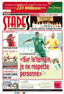 ALFRED NDIAYE : «Sur le terrain, je ne respecte personne»