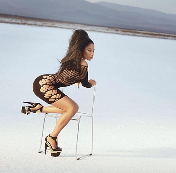 Photos: Nicki Minaj poste des photos sexy sur Instagram. Regardez
