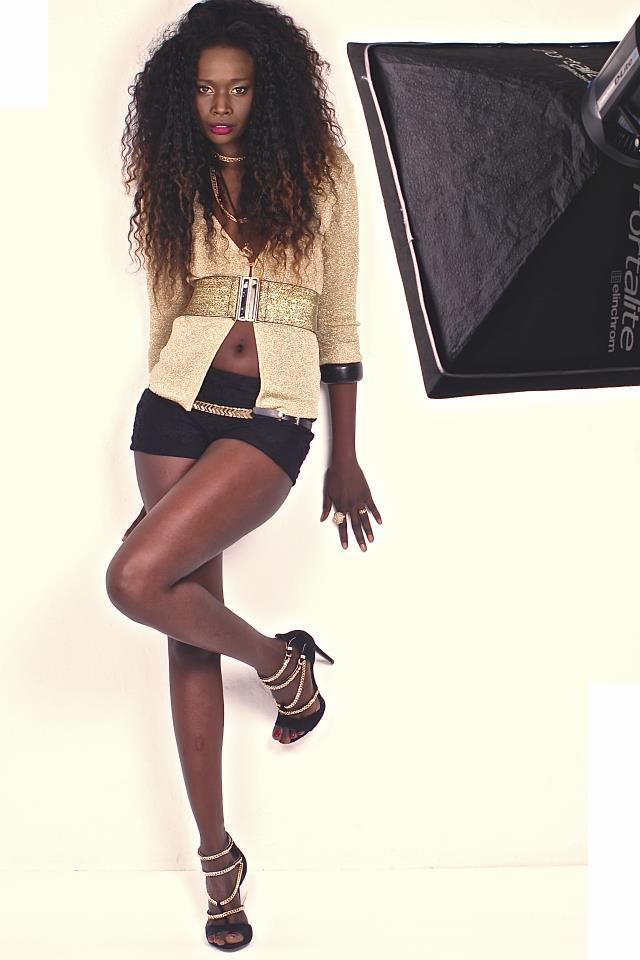 (Photo) La belle et sexy Aicha Chanel Bâ, Miss Sénégal Espagne 2013. Regardez