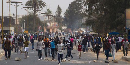 UCAD- Affrontements entre étudiants et forces de l'ordre