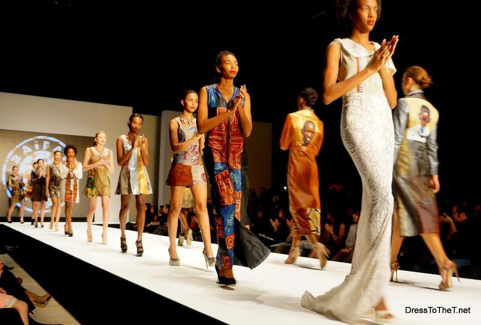 VIP MODE - Le styliste Mike Sylla montre son talent
