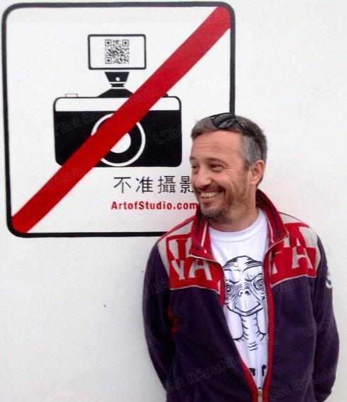 Né en 1971, originaire de La Baule, Sébastien Valiela a fait une école de photo à Paris, CE3P spécialité paparazzi : « Pour faire ce métier, il faut être tenace. » Photo DR
