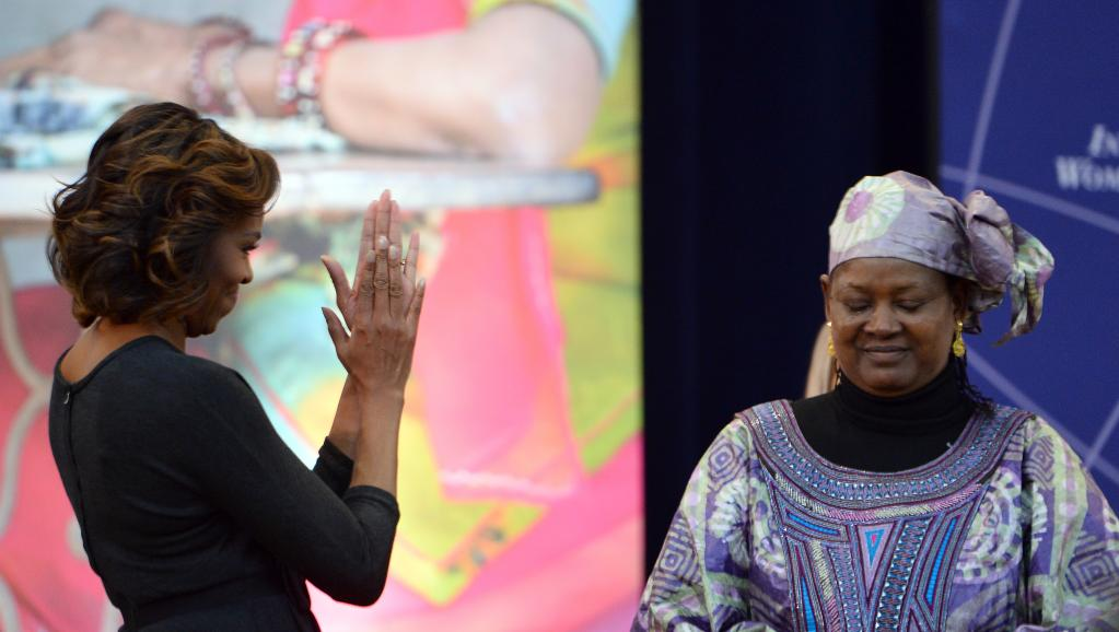 Fatimata Touré du Mali récompensée par Michelle Obama